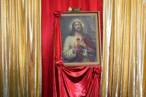 Akt poświęcenia Najświętszemu Sercu Pana Jezusa wprzedszkolu wJarosławiu